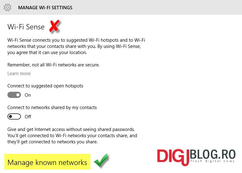 profiluri wi-fi
